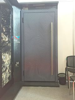 Entrance metal door, Smart Home series, with ISEO / motor lock