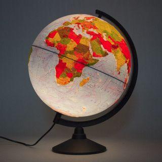 GLOBEN / Globe physical / political Classic, diameter 320 mm, backlit, embossed