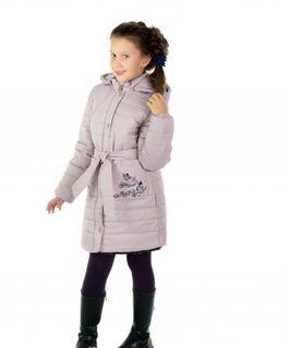 Coat baby with side zipper