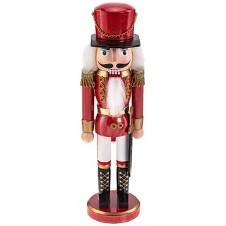 Figurine wooden Nutcracker Mouse king 36 cm
