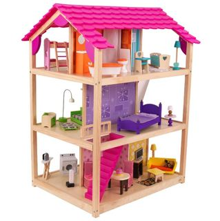 """Wooden doll house """"the Most luxurious"""""""