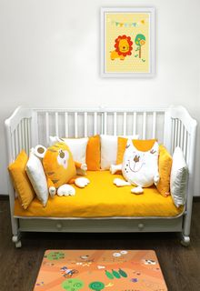 """BALUSHA"" SH4000 - CHILDREN'S SET OF BED IN THE BED"