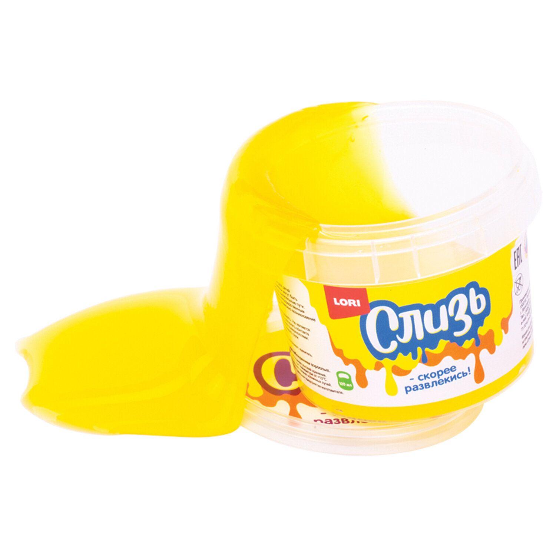 Slime Slime Yellow, 120 ml, LORI