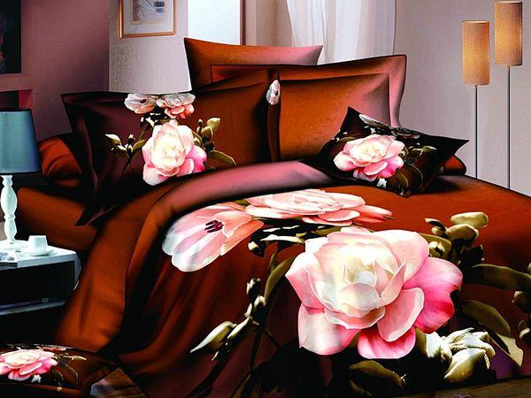 Satin bed linen 3D Lights