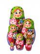 Author's matryoshka 6 dolls - view 1