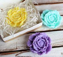 Handmade soap Flower mix colors