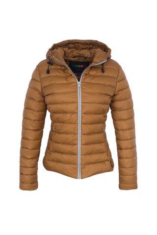 Jacket women's Nooca bronze