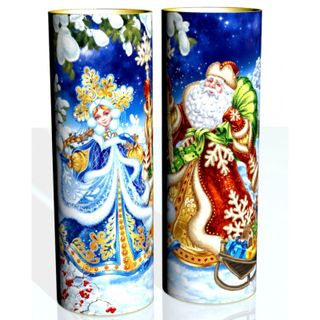 """New Year's gift Tuba """"Winter"""", a set of sweets 1200g."""