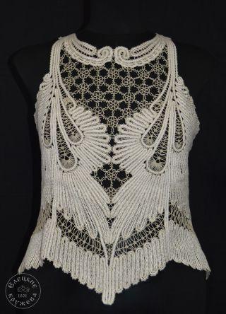 Women's chiffon blouse lace С2481