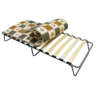 Bed folding (cot), 1900 x800 x350 mm, on slats, with mattress 50 mm, Camilla, ARNO
