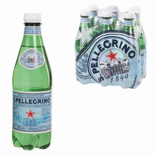 S.PELLEGRINO / Carbonated mineral water S.Pellegrino, plastic bottle 0.5 l, ITALY