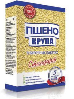 Millet groats - Standard series cereals in cooking bags