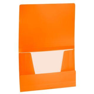 "Folder on elastics BRAUBERG ""Office"", orange, 300 sheets, 500 µm"