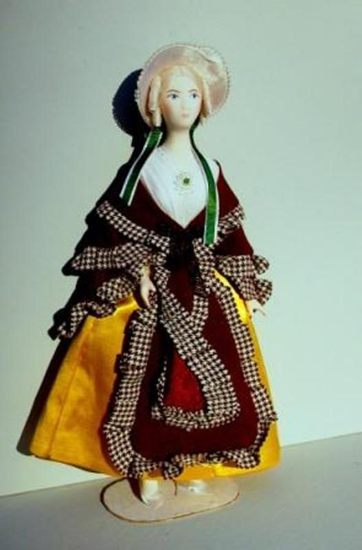 Doll gift. Theatre. Suit at the ESC. Bakst for the ballet 'Papillons'