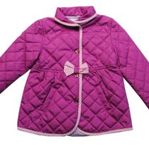 Jacket for the girl quilted demi-season