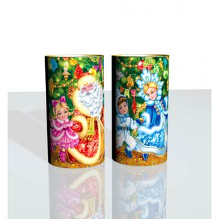 """New Year's gift Tuba """"Under the Christmas tree"""", a set of sweets 900g."""