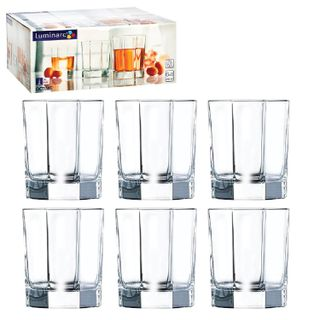 LUMINARC / Set of glasses for juice and whiskey Octime low, glass, 300 ml, 6 pcs.
