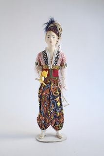 Doll gift. Iskander. Theatrical costume