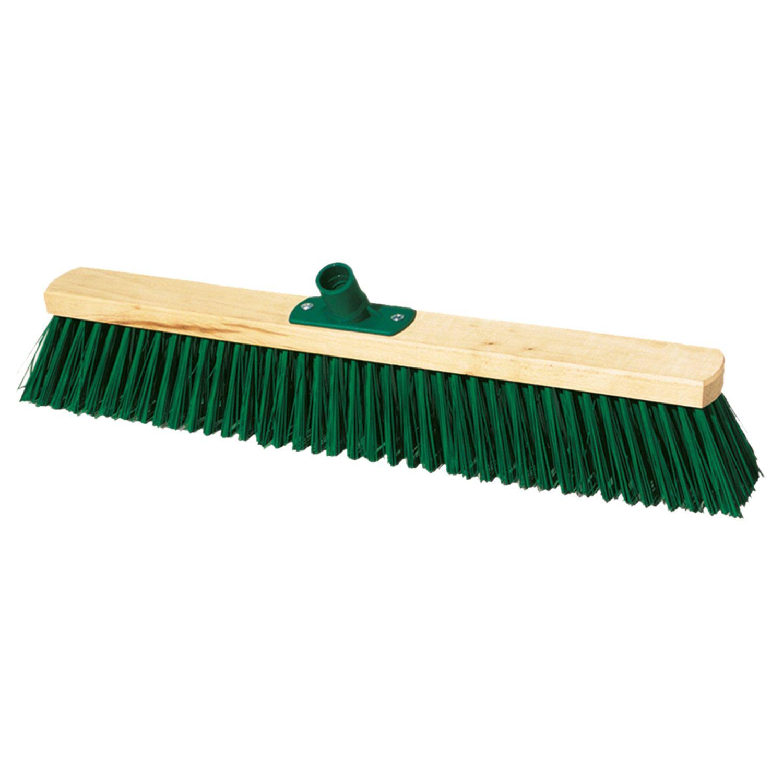 YORK / Technical cleaning brush, width 60 cm, bristles 7.5 cm, wooden, Euro thread