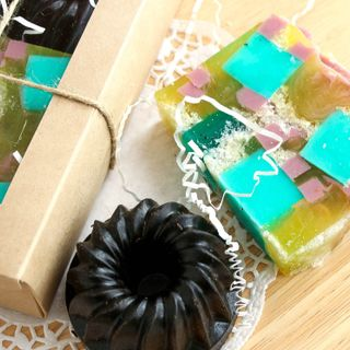 Handmade soap set Confectionery scrubs