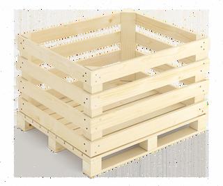 Container wooden lightweight