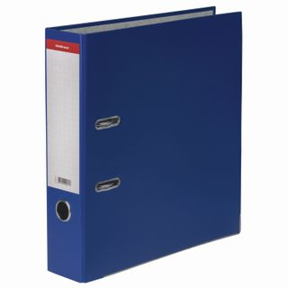 "Folder-Registrar ERICH KRAUSE ""Standard"", with PVC coating, 70 mm, blue"