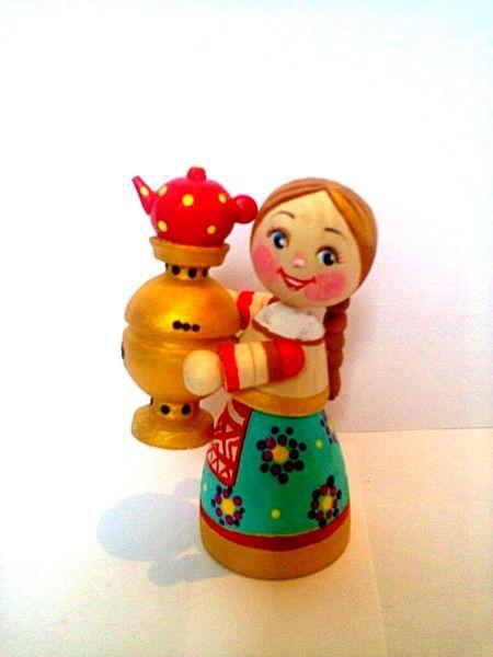 """Tver souvenirs / Composition """"Hostess with a samovar"""" m / r"""