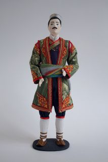 Doll gift. Men's styled suit. Montenegro