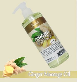 Ginger massage oil
