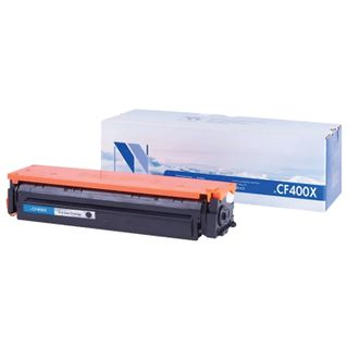 Toner Cartridge NV PRINT (NV-CF400X) for HP M252dw / M274n / M277dw, black, yield 2800 pages