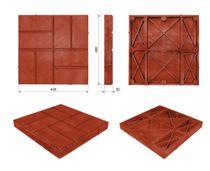 Tile pavement ACC Pavement, '8 bricks' 400х400х50 (m2 / 6,25 PCs)