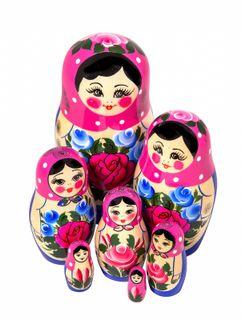7 non-traditional matryoshka dolls