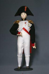 Doll gift porcelain. Napoleon.