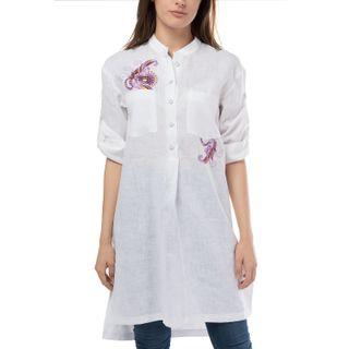 Torzhok gold embroiderers / Women's blouse