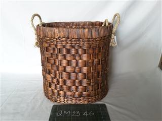 Wicker basket round, 3 pcs