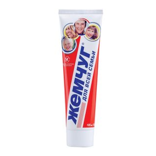 Toothpaste, 100 ml, PEARL, comprehensive caries protection, for the whole family