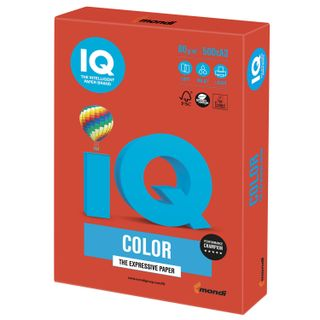 Paper I'color BIG FORMAT (297 x420 mm), A3, 80 g/m2, 500 sheets, coral-red intensification