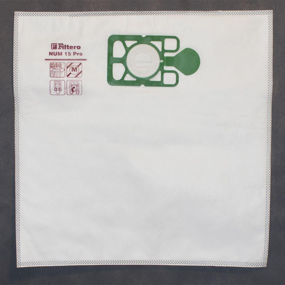 Dust collectors 15L / 430x440mm / 5pcs / 3-layers / synthetic _Filtero NUM15Pro