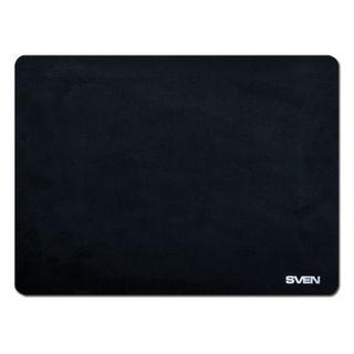 SVEN / Mouse pad HC-01-03, microfiber + rubber, 300x225x1.5 mm, black