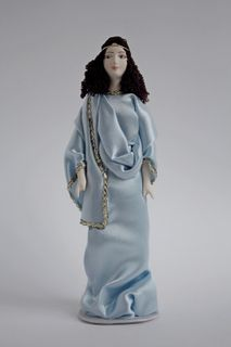 Doll gift. Greece woman costume
