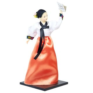 "Figurine porcelain ""Korean woman in national costume"""