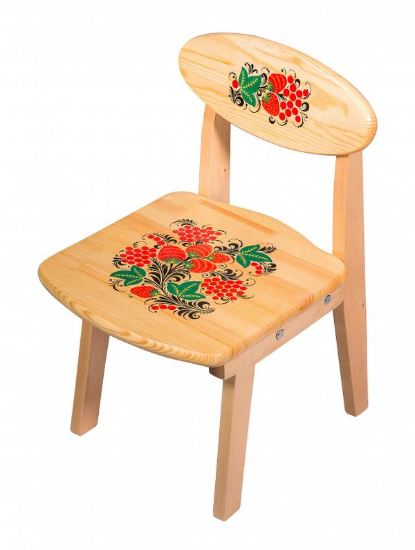 Wooden chair child folding, 1 growth category