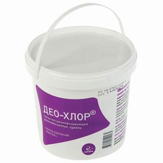 Disinfectant 1 kg DEO-CHLOR, tablets 300 pcs.