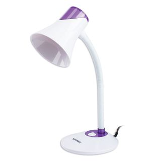 SONNEN / Table lamp OU-607, on a stand, E27 base, white / purple