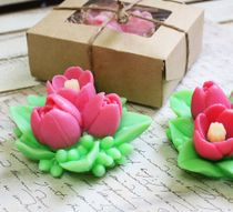 Handmade soap Bouquet of Flowers - mix colors