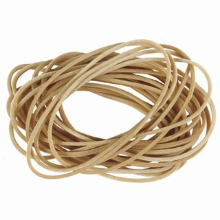 Universal bank rubber bands with a diameter of 60 mm, BRAUBERG 10 kg, natural color, natural rubber