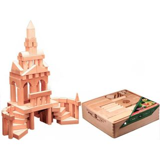 DESIGNER wooden TABLE in the open packaging in the thermo - 150 parts are not painted for children from 3 years
