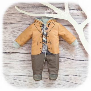 "Overalls velors ""Gentleman"" for a boy"