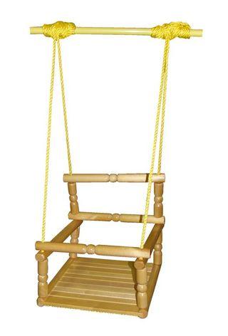 Wooden swing for children