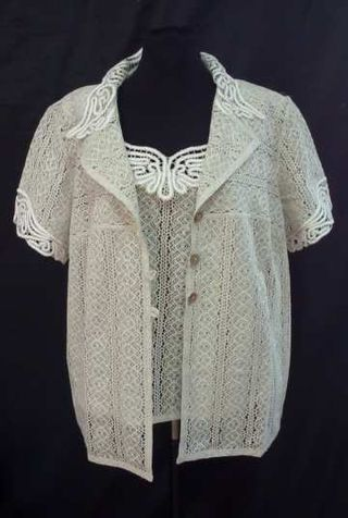 Women's costume from lace